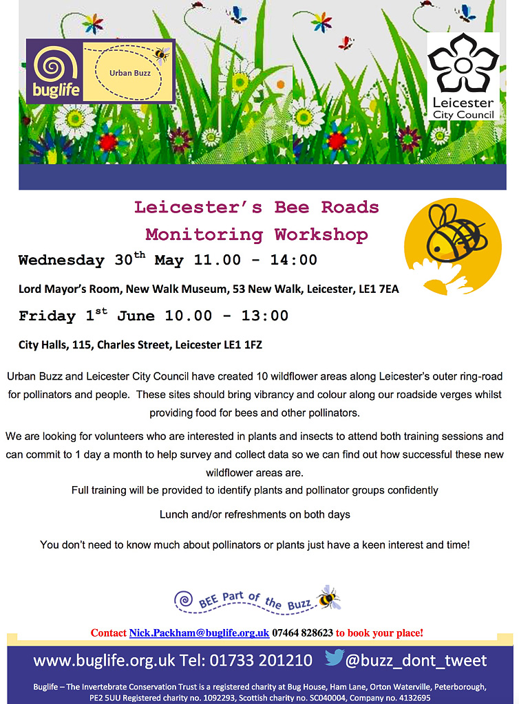 Leicester Bee Road Project